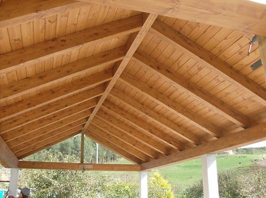 Cobertizos madera timbergal for Cobertizos de madera segunda mano