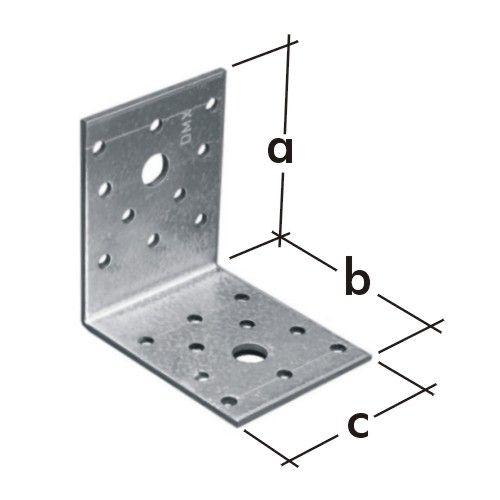 Escuadra de acero galvanizado timbergal for Casetas de acero galvanizado